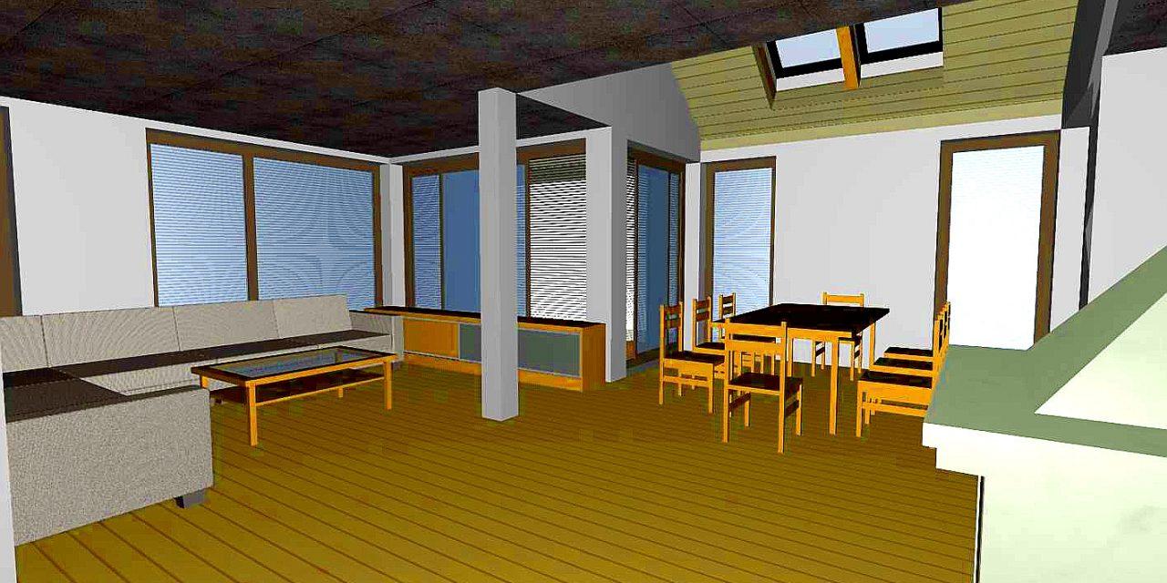 V Mladinskem centru je v teku delavnica 3D oblikovanja bivalnih prostorov