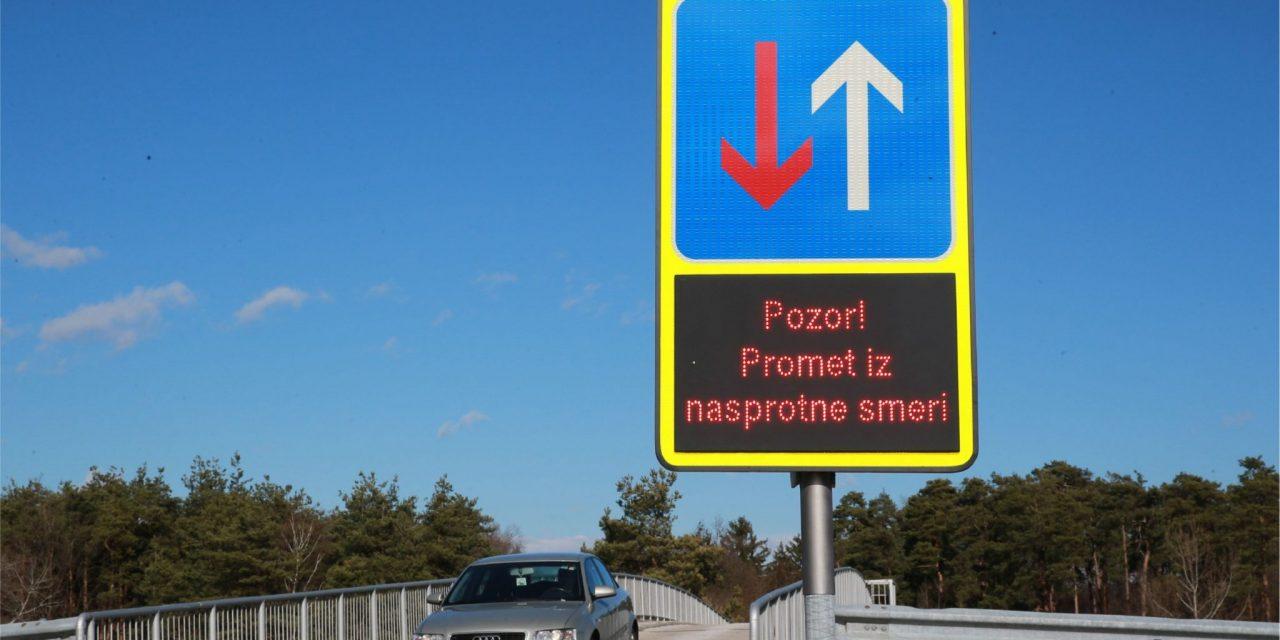 Most med naseljema Trniče – Starše odslej varnejši s sistemom COPS@road