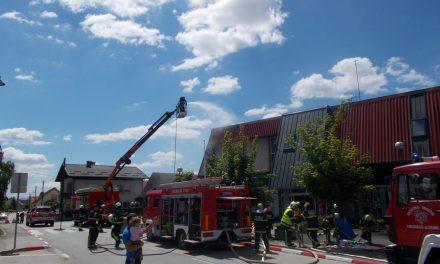 Velika gasilska vaja v Središču ob Dravi