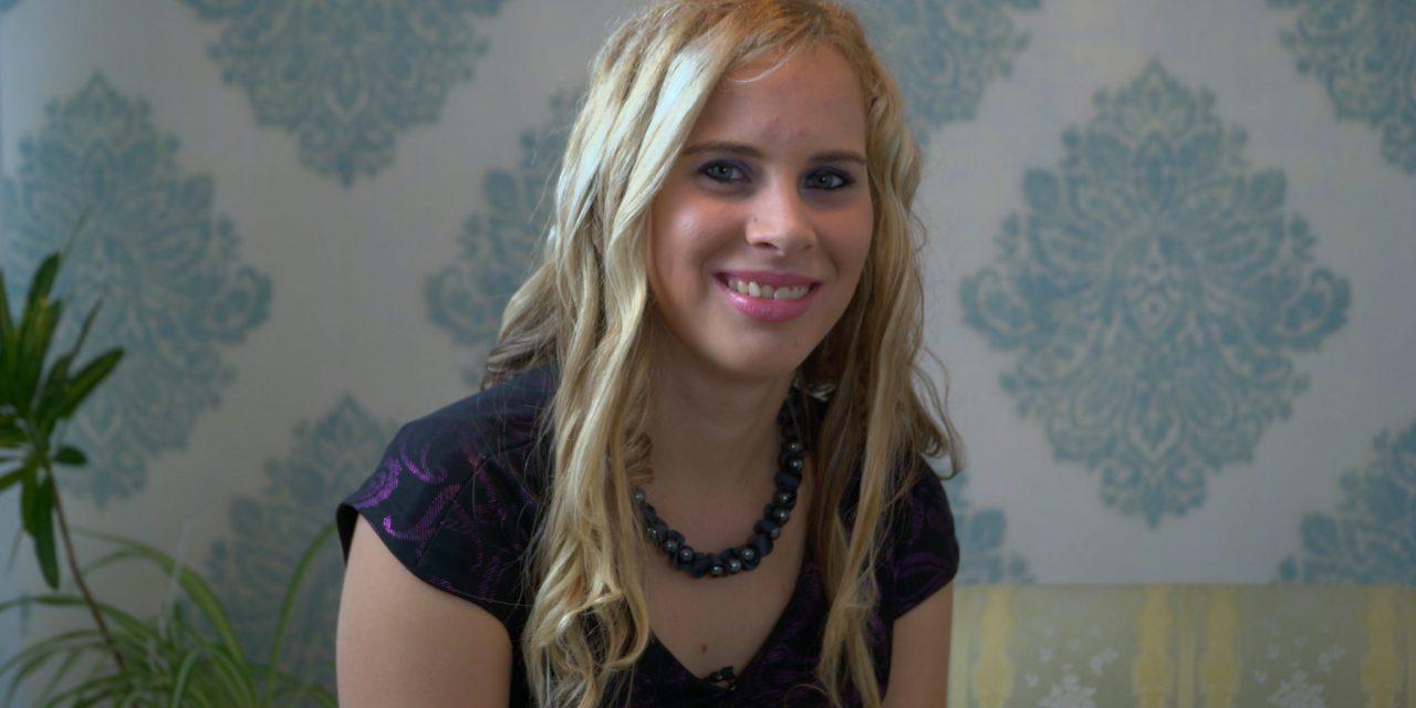 SPORED KTV: Danes v GLASBENIH SPOMINIH mlada pevka Bogdana Gorza predstavlja svoj prvi videospot