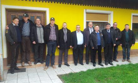 Srečanje članov slovenske in hrvaške Zveze častnikov v Ormožu