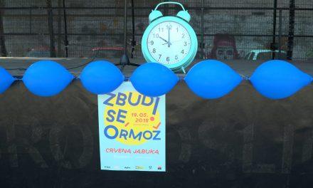 Zbudi se Ormož 2018: Študentje so tudi letos poskrbeli za pestro celodnevno dogajanje v Mestni grabi