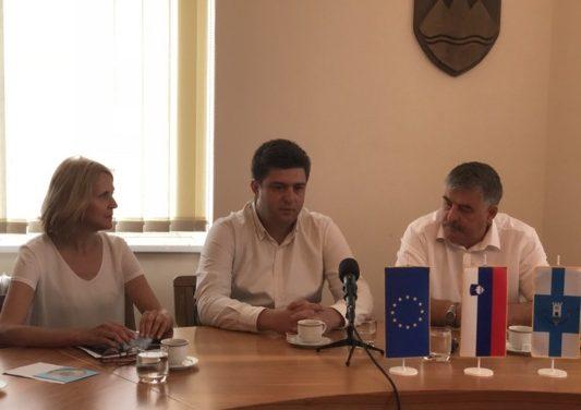 V Ormožu smo imeli na obisku delegacijo iz občine Đorče Petrov (Makedonija)