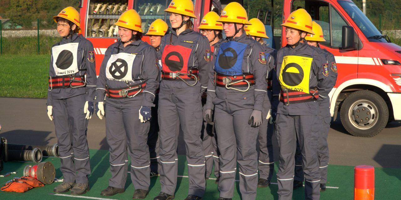 Na državnem tekmovanju za memorial Matevža Haceta bo tekmovala tudi ženska ekipa iz PGD Ivanjkovci