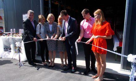 V Središču ob Dravi odprli novo skladišče za Drogine vložnine
