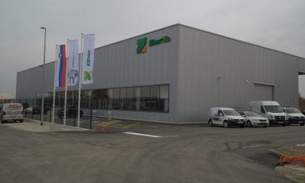 Podjetje ŽIHER iz Moškanjcev v Ormožu postavilo novo proizvodno halo za izdelavo montažnih hiš