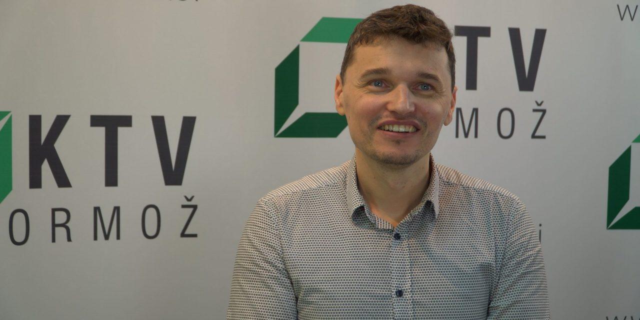 """Ta teden v oddaji """"Med nami povedano"""" Aleksander Šterman – ravnatelj OŠ ORMOŽ"""