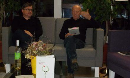 """Jože Rozman knjigo """"Čar vina"""" predstavil tudi v ormoški knjižnici"""