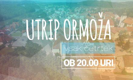 """Nocojšnja oddaja """"Utrip Ormoža"""" (4. julij 2019)  prinaša:"""