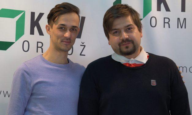 """SPORED KTV ORMOŽ:  V nocojšnji oddaji """"Med nami povedano"""" predstavnika gibanja GPS: Nino Miličić in Domen Obilčnik"""
