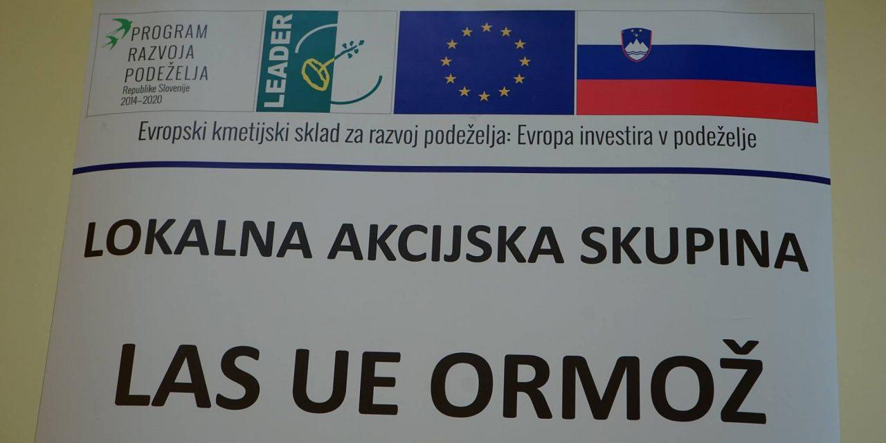 LAS UE ORMOŽ danes objavila ČETRTI javni poziv za sredstva iz Evropskega kmetijskega sklada za razvoj podeželja (EKSRP)