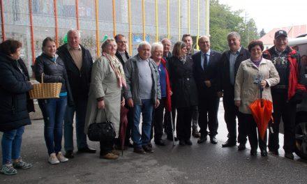 Kandidat za evropskega poslanca Jožef Horvat (Nsi) na obisku v Ormožu