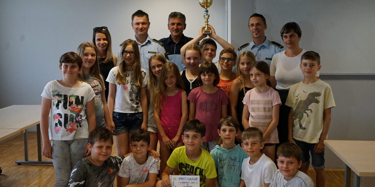 Četrtošolci OŠ Ivanjkovci obiskali Policijsko postajo Ormož