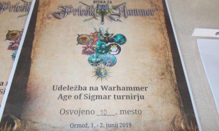 V Ormožu gostili prvi Warhammer Age of Sigmar turnir