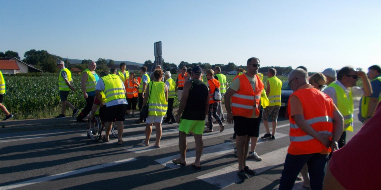 Cvetkovci: S protestom do čimprejšnje nove ceste Ormož – Ptuj