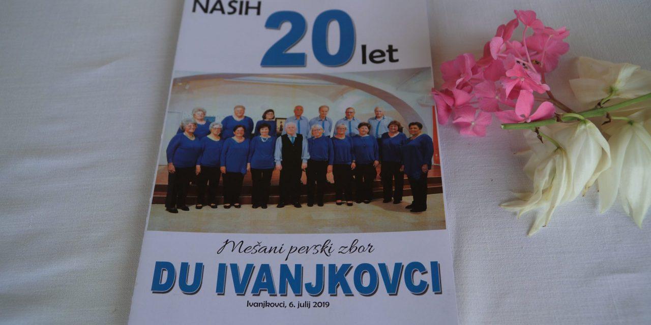 Mešani pevski zbor DU Ivanjkovci praznuje 20 let delovanja