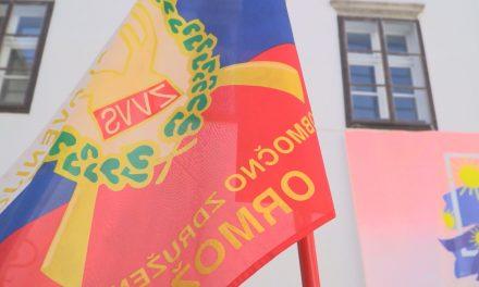 Z včerajšnjega srečanja braniteljev meje 1991 v Ormožu:
