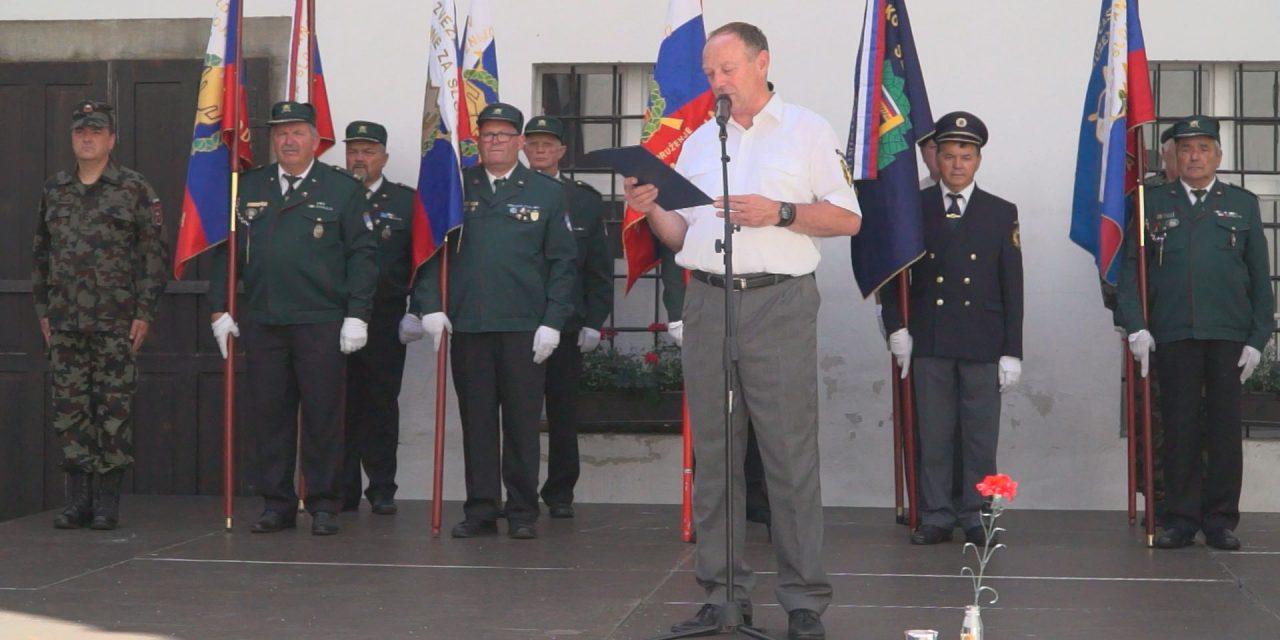 Spored KTV ORMOŽ: Nocoj ob 20.uri posnetek svečanosti ob srečanju braniteljev meje