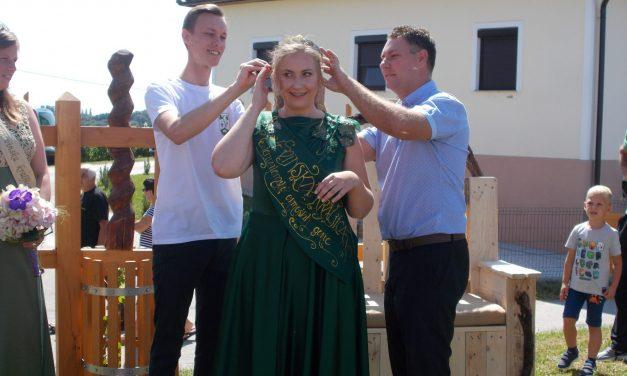 20 letna Eva Leskovar postala IV. vinska kraljica Jeruzalemsko-ormoških goric