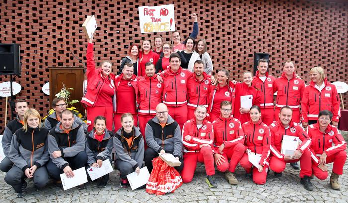 S 25. državnega preverjanja usposobljenosti ekip prve pomoči CZ in RK v Ormožu: