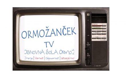 NE PREZRITE:  Nocoj ob 20.uri oddaja šolske televizije ORMOŽANČEK TV