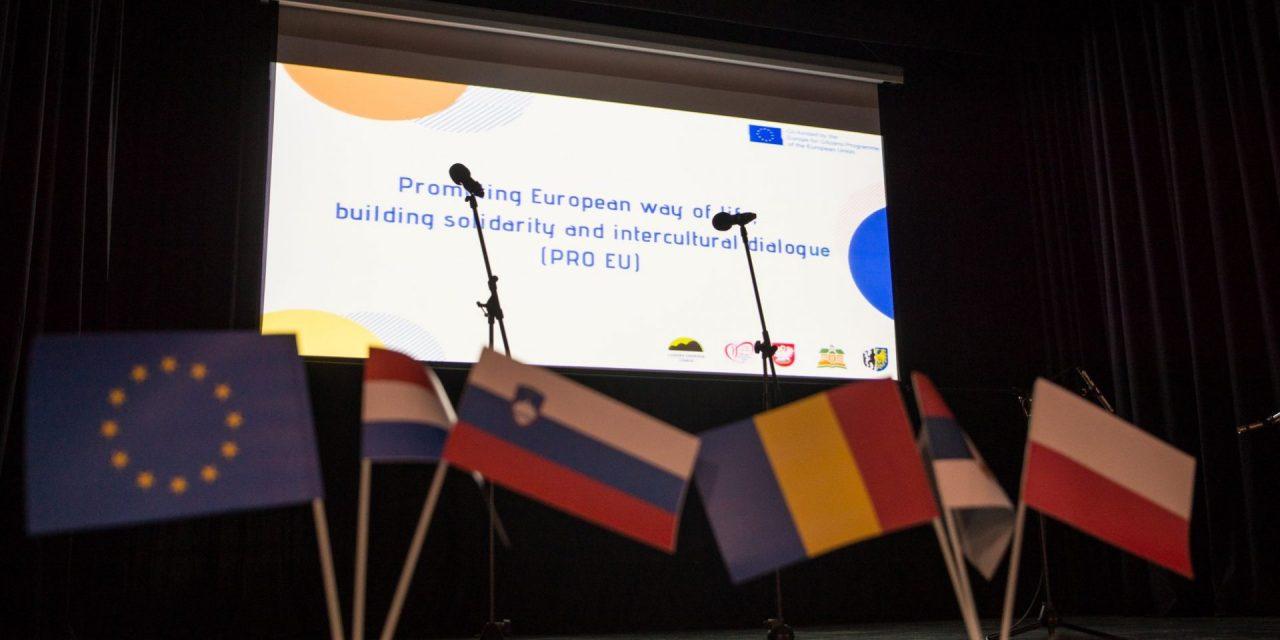 """Projekt """"Evropa za državljane"""" v Ormož pripeljal več kot 150 Evropejcev"""