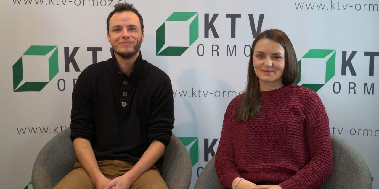 SPORED KTV ORMOŽ:  Gosta v nocojšnji oddaji bosta Ugo Dorain (prostovoljec ESE iz Francije) in Marina Korpar, dipl. prevajalka