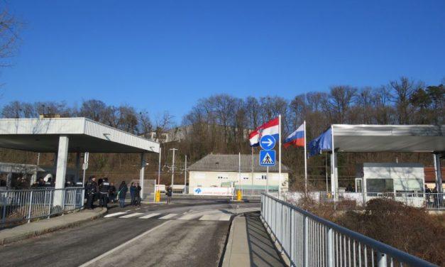 Začasno zaprti mejni prehodi na območju PU Maribor