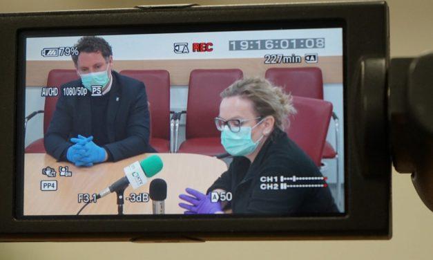 SPORED KTV ORMOŽ: Danes ob 12. in 20.00 uri posnetek 2.tiskovne konference predstavnikov kriznega štaba