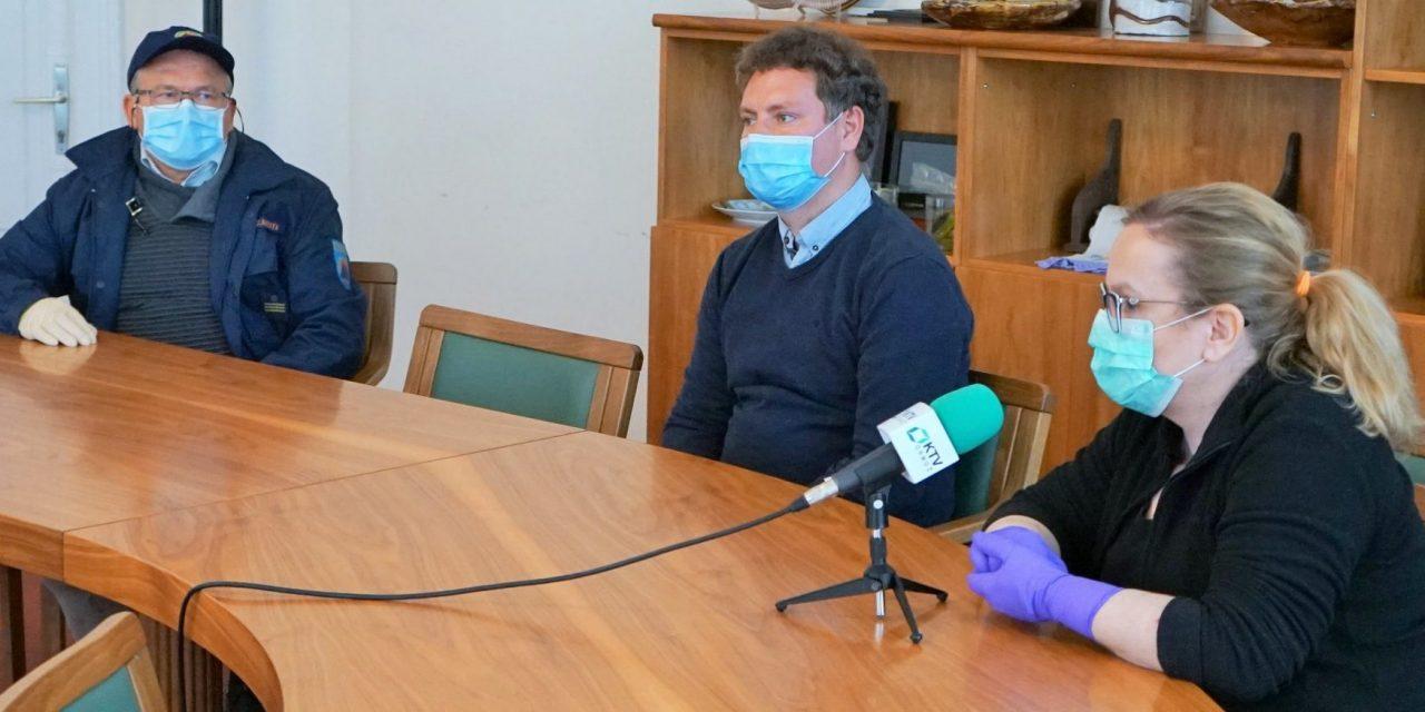 SPORED KTV ORMOŽ:  Ob 12. in 20. uri posnetek današnje tiskovne konference predstavnikov kriznega štaba