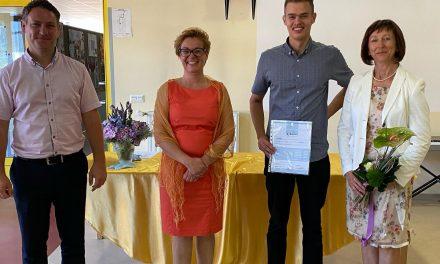 Vid Munda je postal zlati maturant Gimnazije Ormož