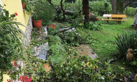 Popoldansko neurje v občini Ormož v 10 minutah povzročilo katastrofo
