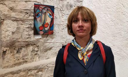 Likovno delo Inne Klemenčič na državni tematski razstavi v gradu Snežnik