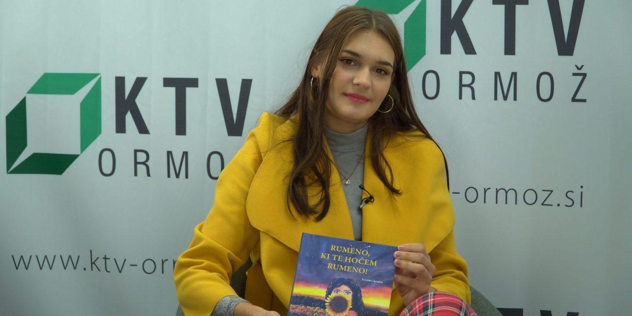 """SPORED KTV:  V današnji oddaji """"Med nami povedano"""" gostimo mlado pesnico SANDRO KUMER"""