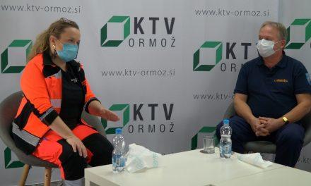 """Ne prezrite:   Danes ob 12.uri oddaja """"Aktualno"""" na temo COVID 19, gosta:  Alenka Simonič, dr. med. in Ludvik Hriberšek, poveljnik CZ ORMOŽ"""