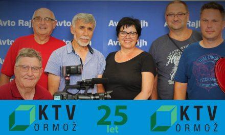 Kabelska televizija Ormož (KTV ORMOŽ) je v letu 2020 praznovala 25 let delovanja