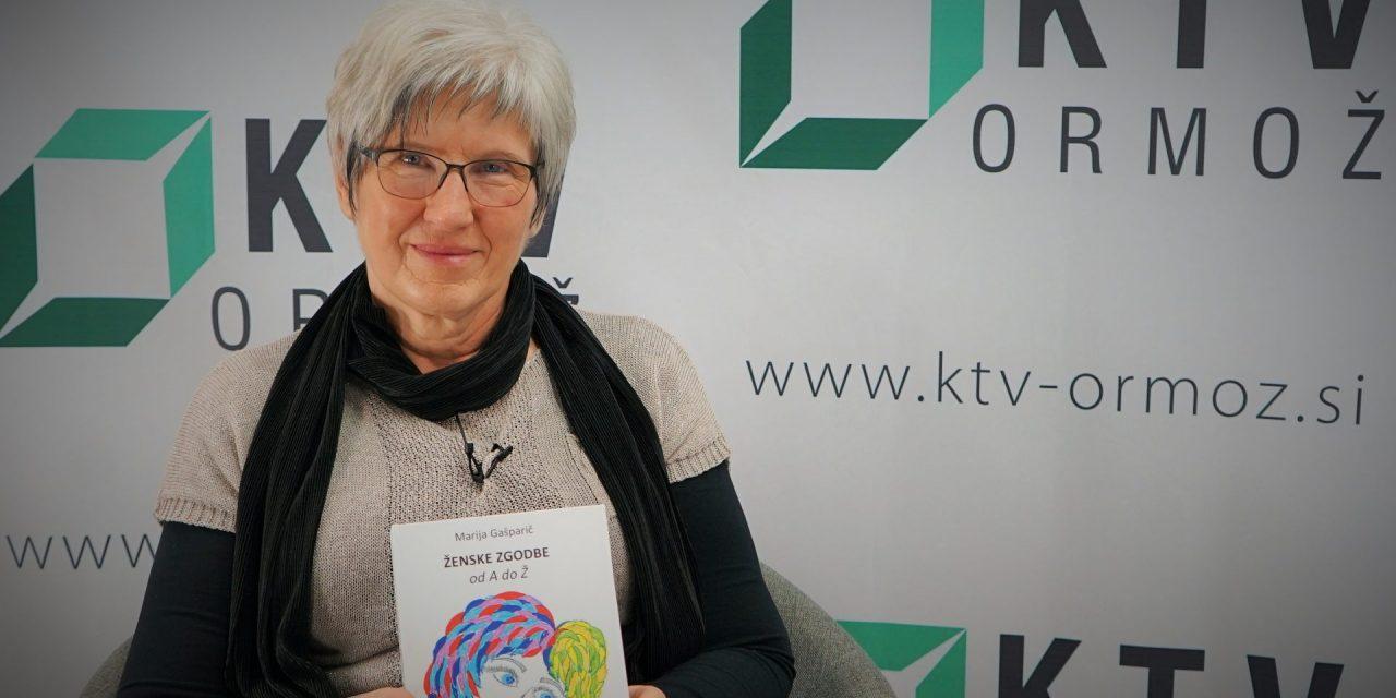 SPORED KTV ORMOŽ: Gostja v nocojšnji pogovorni oddaji bo pisateljica Marija Gašparič iz Spodnjih Ključarovcev