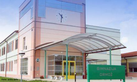 Vse informacije za šolanje na Gimnaziji Ormož tudi jutri, v soboto, 13. februarja ob 9. uri