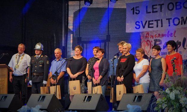 Občina Sveti Tomaž je v petek praznovala 15. rojstni dan