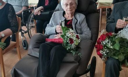 Ormožanka Erika Pučko je praznovala 100. rojstni dan